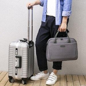 Image 4 - 2020 New Womens Briefcase Office Laptop Bags For Ladies Computer Work Shoulder Messenger Business Bag Handbag Men Travel Bags