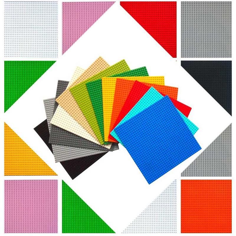 11 Farben 32*32 Dots Basis Platte Für Kleine Ziegel Grundplatte Board Kompatibel Legoed Figuren Diy Bausteine Spielzeug Zubehör Mangelware