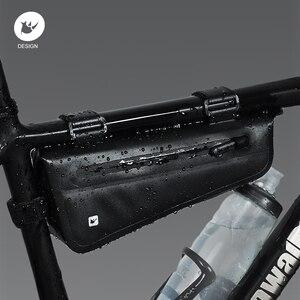 Image 2 - Rhinowalk אופניים מסגרת תיק 2.8L לכביש MTB מתקפל אופני אחסון כלי סלים משולש מסגרת תיק מלא עמיד למים