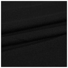 ลำโพงย่างผ้าสเตอริโอGilleผ้าผ้าผ้าตาข่ายลำโพง 1.7M X 0.5Mสีดำ
