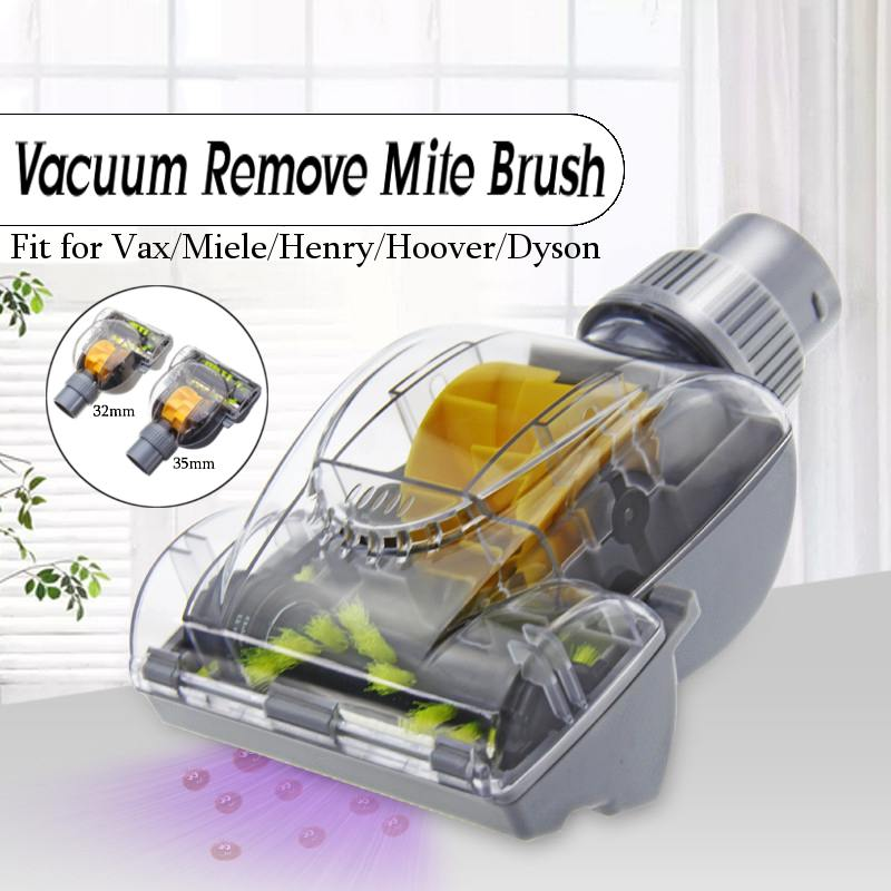 35mm/32mm Vacuum Cleaner Accessories Turbo Brush Vibration Brush Remove Mites Deep Clean Turbo Head Convenient Cleaning