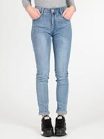 High waist jeans stretch