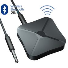 2 In 1 Transmitter Receiver 3.5mm Wireless Adapter Bluetooth 4.2 Stereo