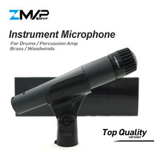 Top Quality Version S 57 LC Professional Instrument Dynamic Wired Microphone 57LC Mic For Drums Percussion Brass Woodwinds Amp(China)
