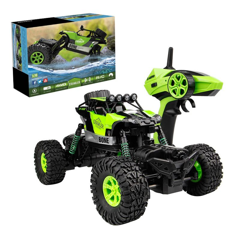 Kid RC Car 4WD 1/16 Rock Crawler Climber Off Road Vehicle 2.4Ghz Toy Remote Control Car Electronic Monster RC Dirt Bike ChildrenKid RC Car 4WD 1/16 Rock Crawler Climber Off Road Vehicle 2.4Ghz Toy Remote Control Car Electronic Monster RC Dirt Bike Children