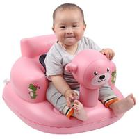 Stable Inflatable Baby Sofa Baby Learning Sit Support Feeding Chair Child Baby Dining Chair Seat BB Inflatable Stool