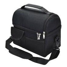 Изолированный Ланч-бокс, сумка для путешествий, для мужчин и женщин, для взрослых, горячая холодная еда, термоохладитель, 8L