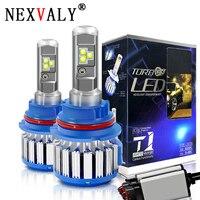 NEXVALY 9007 9012 LED Light Bulb and Car Headlight Bulbs Fog Lights Motorcycle Headlight White 6000K 12V 24V