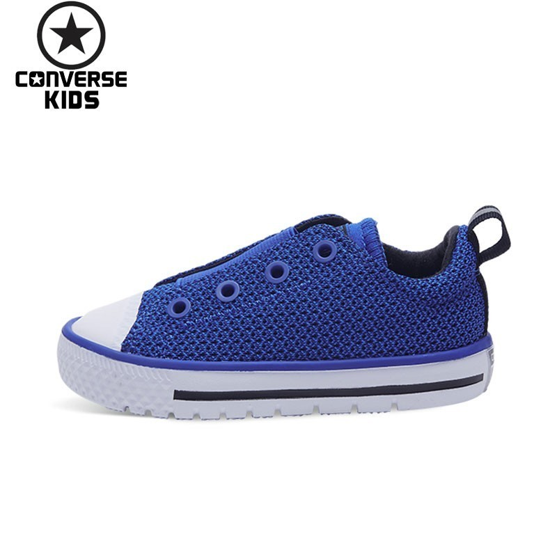 CONVERSE Children's Shoes Weave Noodles Male Baby Leisure Time Walking Anti slippery Shoes #759982C S