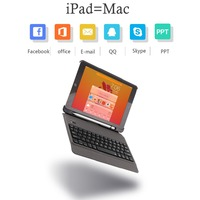 Case For iPad 6th 2018 9.7 inch Removable Backlit keyboard W Pencil Holder Leather Cover For iPad 2017 Case Keypad A1893 A1954