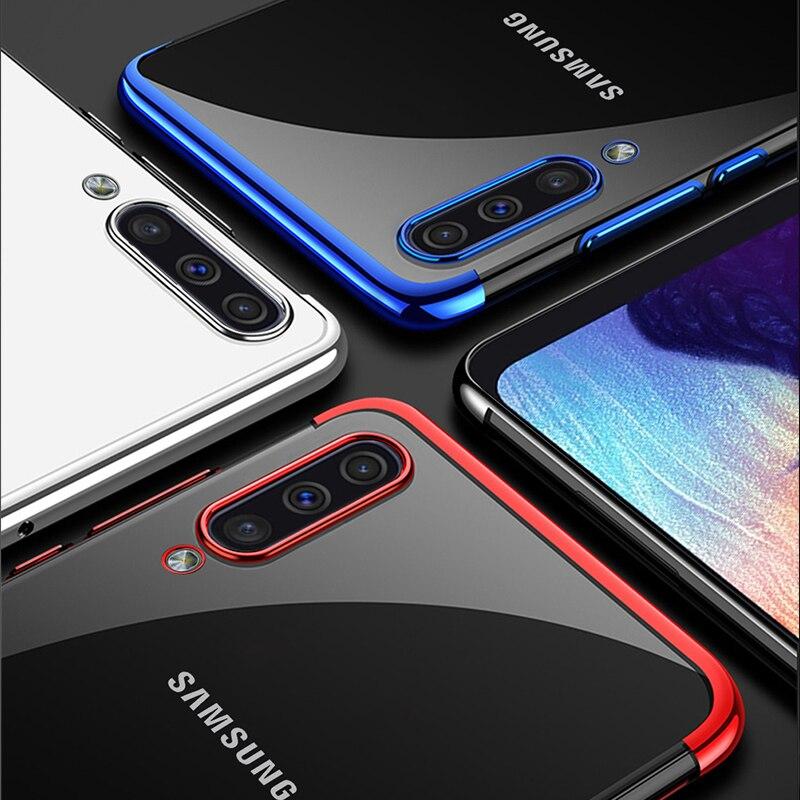 Plating-Cover Clear Soft S10E A40 S Samsung Galaxy A9 A10 for A70/a50 A30/A20/A10/..