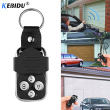 KEBIDU Wireless 433Mhz Four-Key Copying Remote Garage Door Gate Wireless Remote Control Copy Key Cloning Duplicator For Chipset(China)