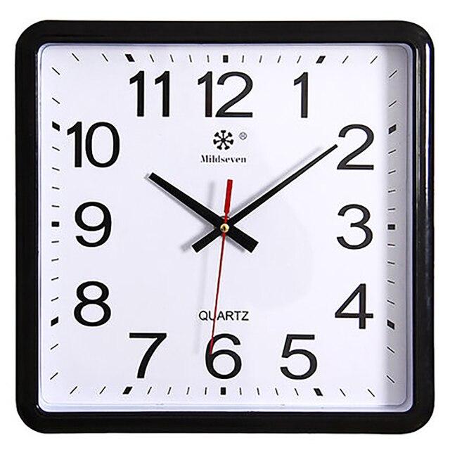 Big Digital Watch Wall Clock Modern Design Best Selling 2018 Products Nordic Design Metal Wall Decorations Living Room 50Q101