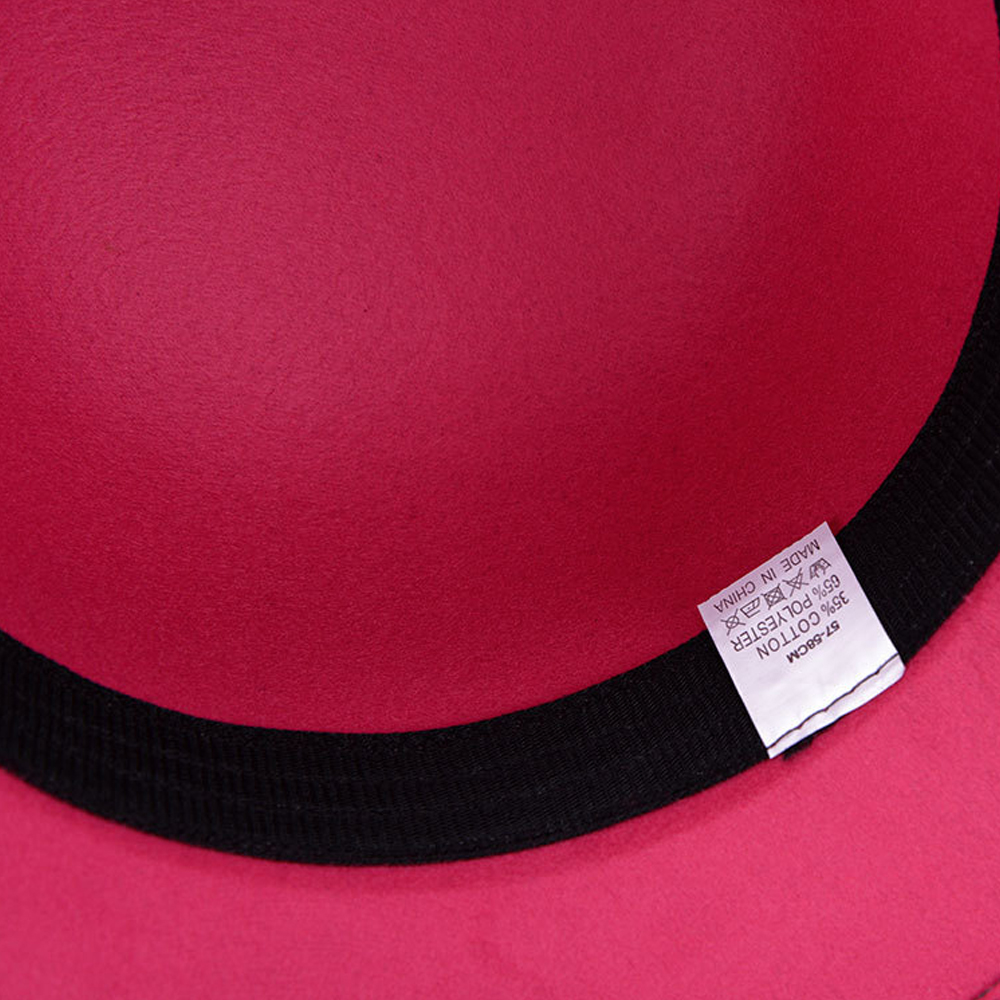 Модные женские туфли Винтаж гибкий Шляпа Fedora вечерние котелок Кепки женская летняя пляжная кепка от солнца широкими полями Cloche Floppy Hat