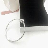 2019 NEW Charm Carved Silver 925 bead charms bracelets women bangles pendants jewelry,1pz