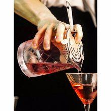 Fouet à Cocktail en cristal, barman professionnel de Bar japonais, mélangeur en verre, Shaker, Martini, outils pour préparation de Cocktails