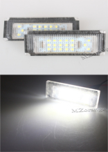 MZORANGE 2 PCS LED Car Number License Plate Lights 6000K Plate Light Bulb For BMW/MINI COOPER S R50 R53 Accessories стоимость