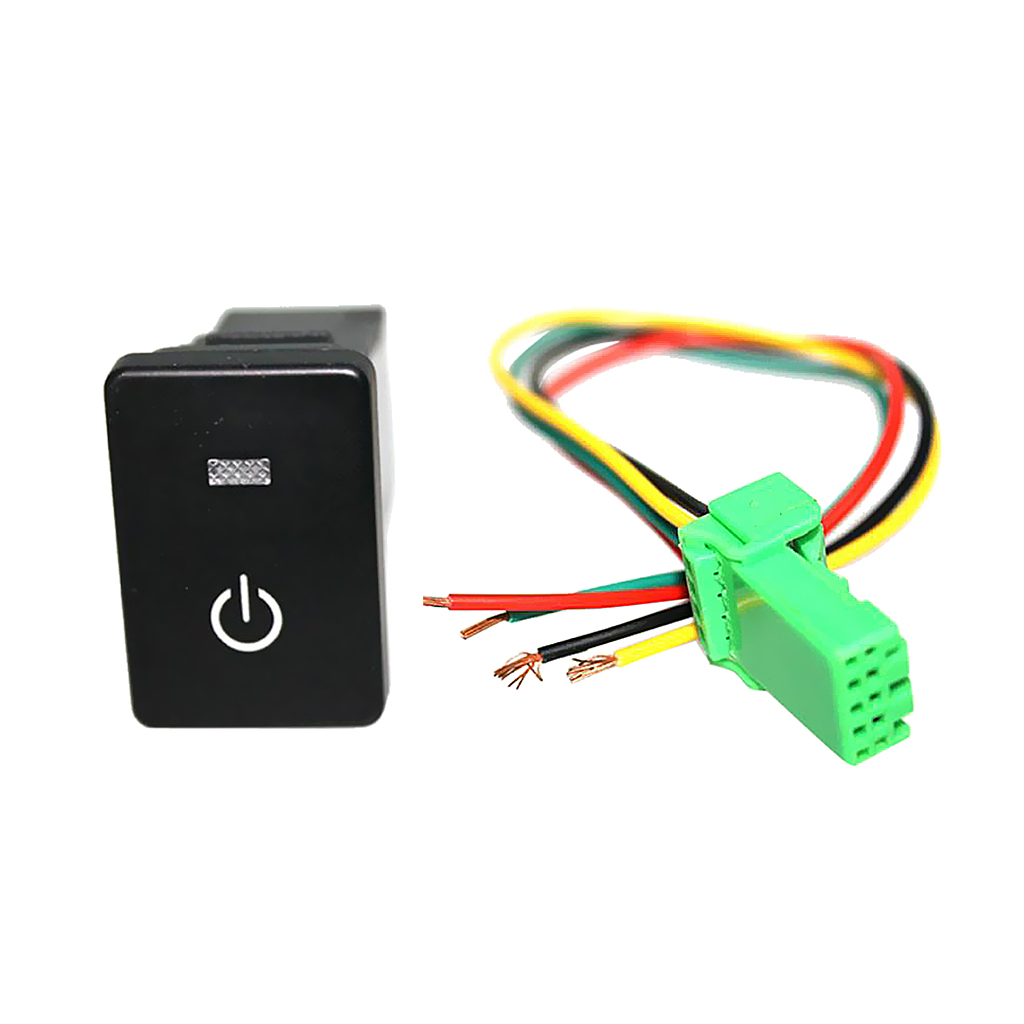 DC12V//200mA Car Push Button Latching Turn ON//OFF Switch LED Light RV 2017