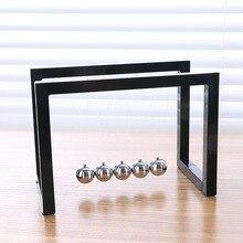 Newton Pendulum Cue Ball Bumper Office Desktop Balance Perpetual Motion Decoration Creative Gifts