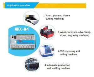 Image 3 - XHC Mach4 yeni kesme panosu 3 4 6 eksen USB hareket kontrol kartı MKV M4 2000KHz CNC Router/kesme makinesi NEWCARVE