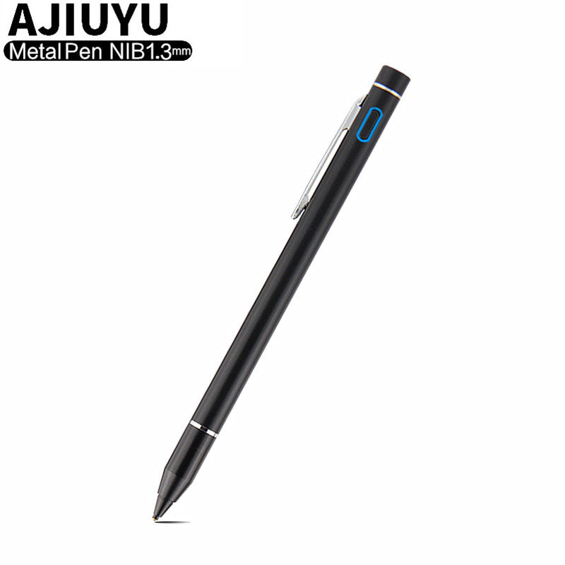 Ativo Caneta Stylus Capacitivo caneta Touch Screen Para Huawei MediaPad Lite T5 M5 10 AGS2-L09 W09 BAH2-W09 L03 10.1 Tablet caixa De Metal