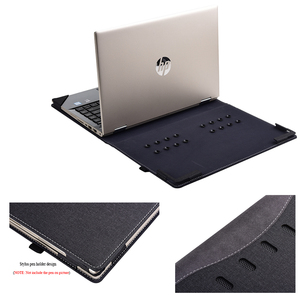 Image 2 - Чехол для Hp Pavilion X360 Convertible 14 Laptop Sleeve для 14 ce 14S CR0000 съемный чехол для ноутбука сумка Защитная кожа подарки