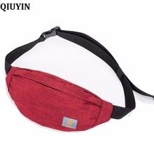 QIUYIN Fanny Pack for Women Men Waist Bag Colorful Unisex Waistbag Belt Zipper Pouch Packs 110cm Length Factory