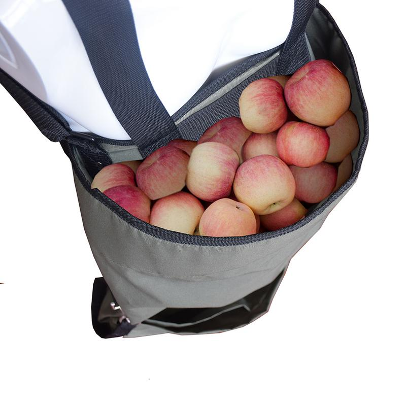 High Strength Oxford Fabric With Good Quality Waterproof Waterproof Harvest Vegetables And Fruits Picking Apron Storage Bag