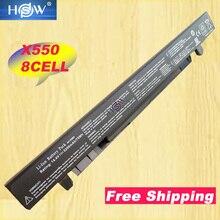 HSW 8 célula 5200mAh 14,4 V A41 X550 A41 X550A batería para Asus X550 X550C X550B X550V X450C X450LA