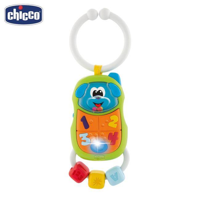 """Игрушка-погремушка Chicco """"Телефончик"""" 3м+"""