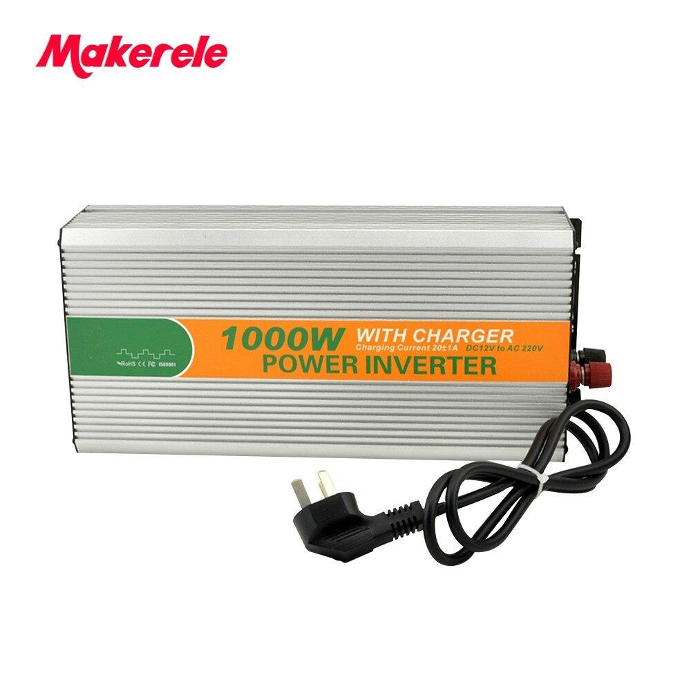 MKM1000-481G-C 1kw solar inverte micro off grid inverter 48vdc to 110/120vac 1000w power inverter with battery chargerMKM1000-481G-C 1kw solar inverte micro off grid inverter 48vdc to 110/120vac 1000w power inverter with battery charger