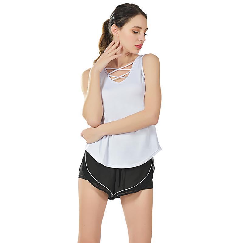 Ladies Beauty Back Shoulder Straps Camis Tank Women