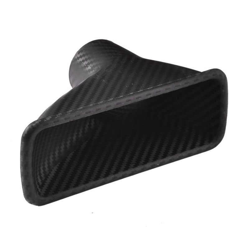 Auto Bumper Turbo Air Intake Trim Kit Grill Mount Pijp Trechter Set Universele Voor Meest Cars Abs 16.8*4.7*10.6 Cm Auto Accessoires