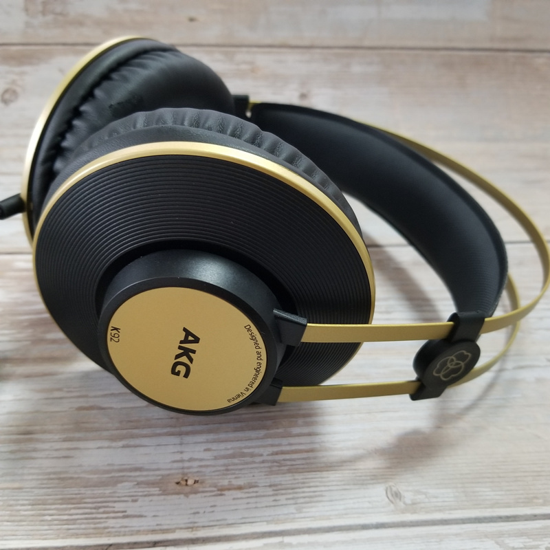 k92 /k72 Headband Monitor HiFi 3.5mm Wired Dynamic profession Headphone Sound quality is good for tube amplifier