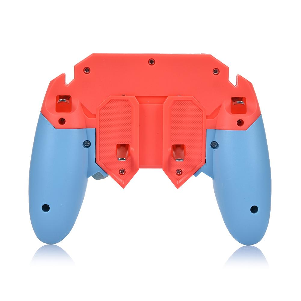 Image 5 - Or AK65 PUGB Helper Mobile Phone Handle Mobile Game Controller Six Finger All   In   One Mobile Controller Game Joystick Gamepad-in Gamepads from Consumer Electronics