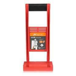 Shgo HOT-80kg carga ferramenta painel carrier gripper alça carry drywall folha de madeira compensada abs para transportar placa de vidro placa de gesso e