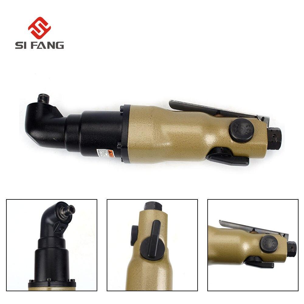 Industrial Professional 90 Degree 1/4'' Pneumatic Screwdriver 10000 RPM Air screw driver Adjustable Speed lodestar professional ceramic screw driver ph1 5 x 22mm