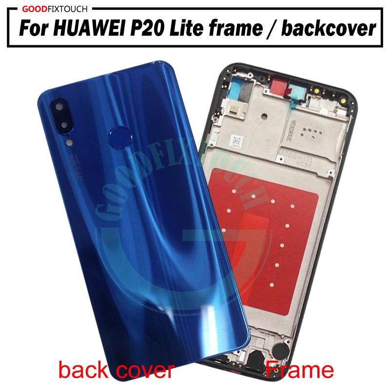Pantalla LCD Digitalizador Pantalla Táctil para Huawei P20 Lite sin marco Negro Nuevo