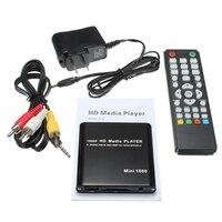 Multi Media Player 1080P USB SD MMC HD MKV AV HDMI Video Audio Digital MKV/H.264/RMVB Full HD With HOST USB Card Reader