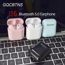 i16 TWS mini Wireless Bluetooth 5.0 earphones earbuds stereo bass i7s headsets PK i10 i12 i13 1:1 i14 i15 i18 i30 i60 i80 i11 i9