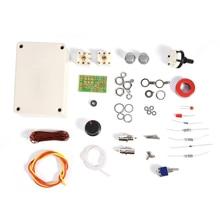 1 30Mhz LED VSWR DIY Manuelle Antenne Tuner Kit Für HAM RADIO CW QRP Q9 Bnc schnittstelle