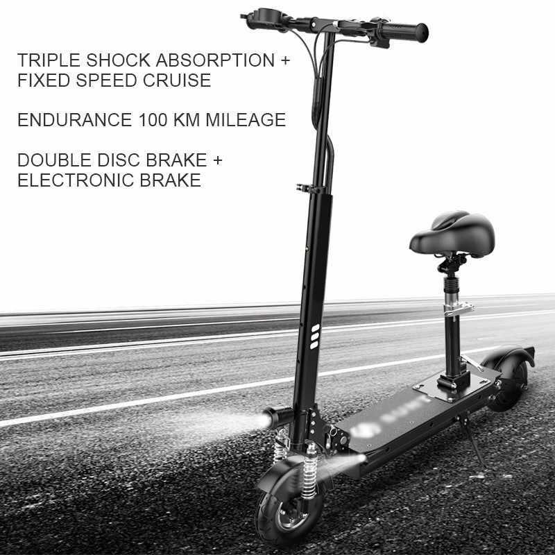 LOVELION, scooter plegable de potencia eléctrica, para adultos, plegable, para conducir, motocicleta, bicicleta, motocicleta, vehículo, scooters