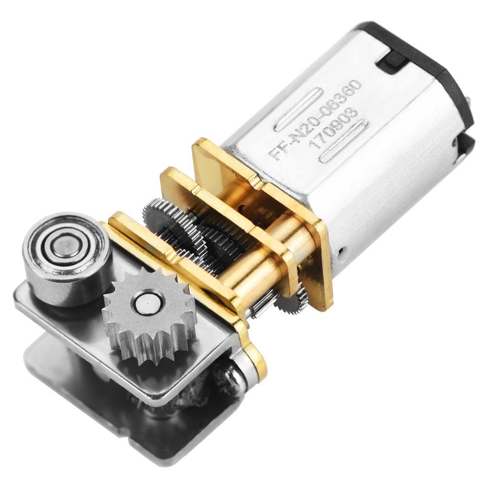 Enthousiast 12 V Micro Gear Motor 11 Rpm N20 Haakse Metal Versnellingsbak Micro Gear Motor Voor 3d Printing Pen Borstel Dc Motor