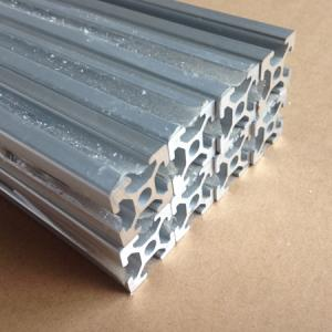 <font><b>2020</b></font> V-slot Aluminum <font><b>Profile</b></font> color Silver for 3D printer or cnc machine <font><b>1000mm</b></font> long image
