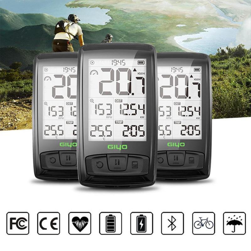 Cycling Bluetooth Wireless Mountain Road Bike Speedometer Backlight Bicycle Odometer IPX5 Waterproof Speedometers