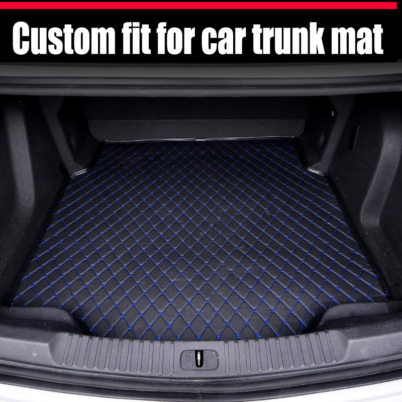 ZHAOYANHUA Custom Fit Car Trunk Mats For Land Rover Discovery 3 4 Range Rover N Sport Evoque Freelander   Car Styling Liner