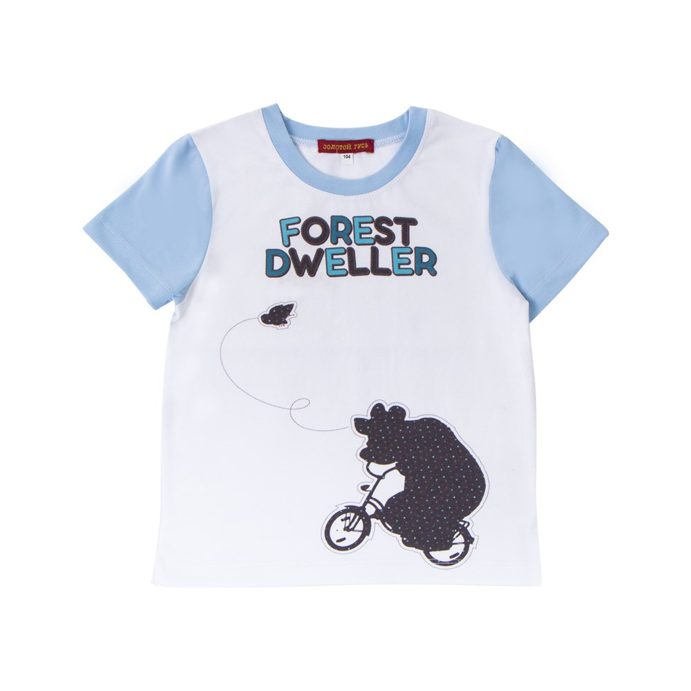 Masha and the Bear Shirt T-shirt combination M plus size bird and floral print v neck long sleeve t shirt