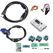 RT809F LCD Display FLASH EPROM VGA ISP AVR Programmierer Clip + 7 Adapter Buchse Industrielle Computer Programmierer Zubehör Kit