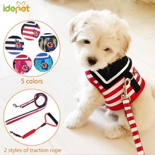 Pet Leads Vest Harnesses Dog Collars Harness Type Dog Leash Pet Leash For Dogs Rope Pets Chain Chest Strap Pet Accessories 30 e3gf pet dog chain leash red silver