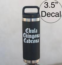 Наклейка на стакан chula chingona cabrona наклейка yeti старинная